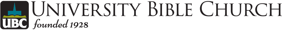 University Bible Church Logo